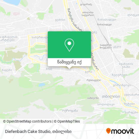 Diefenbach Cake Studio რუკა