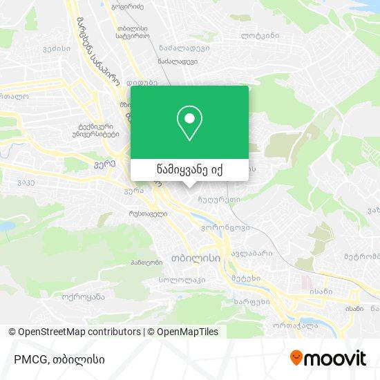 PMCG რუკა