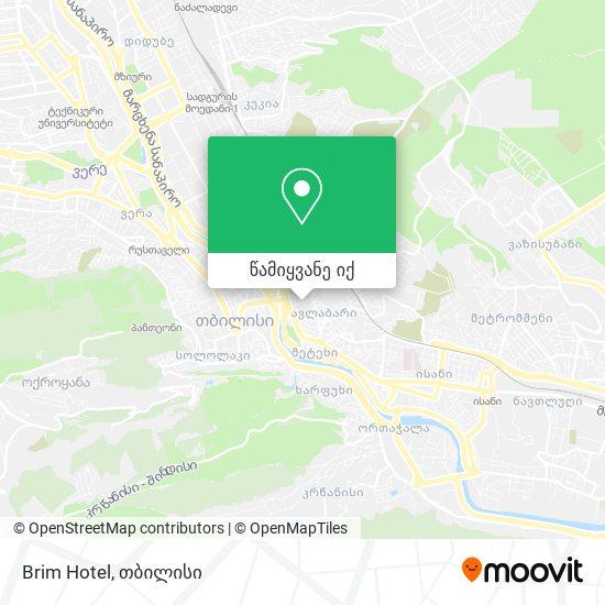 Brim Hotel რუკა