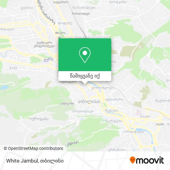 White Jambul რუკა