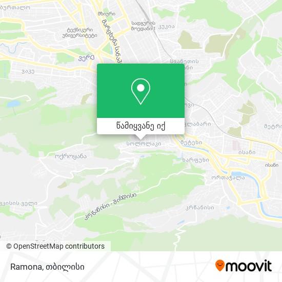 Ramona რუკა