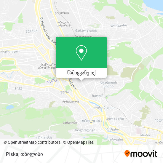Piska რუკა