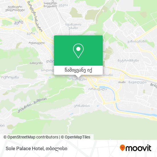 Sole Palace Hotel რუკა