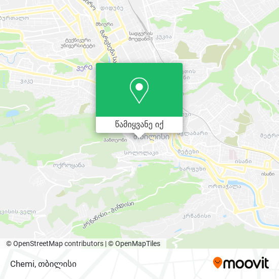 Chemi რუკა