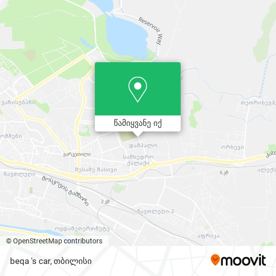 beqa 's car რუკა