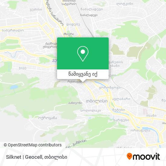 Silknet   Geocell რუკა