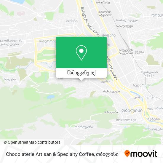 Chocolaterie Artisan & Specialty Coffee რუკა