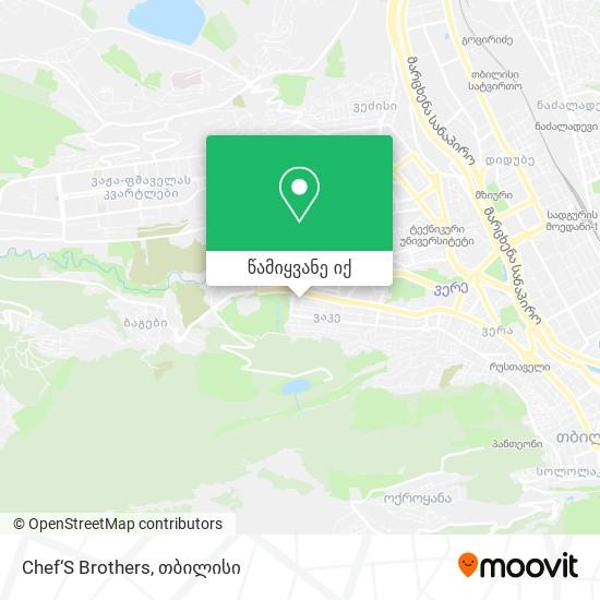 Chef'S Brothers რუკა