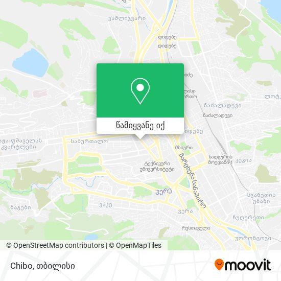 Chibo რუკა