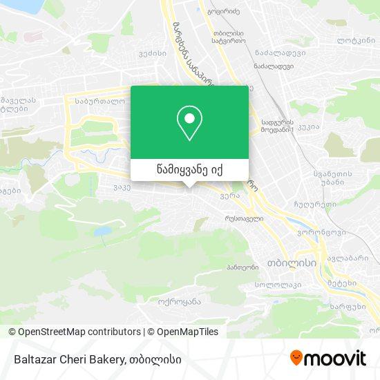 Baltazar Cheri Bakery რუკა