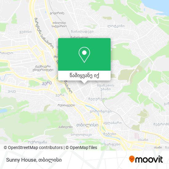 Sunny House რუკა