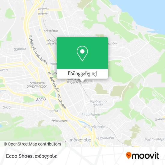 Ecco Shoes რუკა