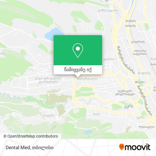 Dental Med რუკა