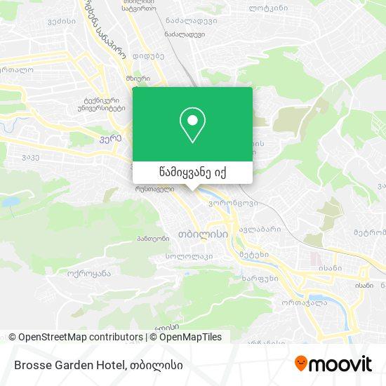 Brosse Garden Hotel რუკა