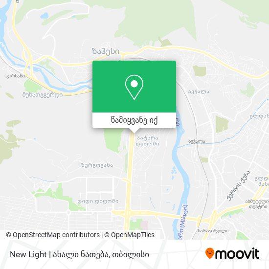 New Light | ახალი ნათება რუკა