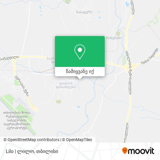 Lilo   ლილო რუკა