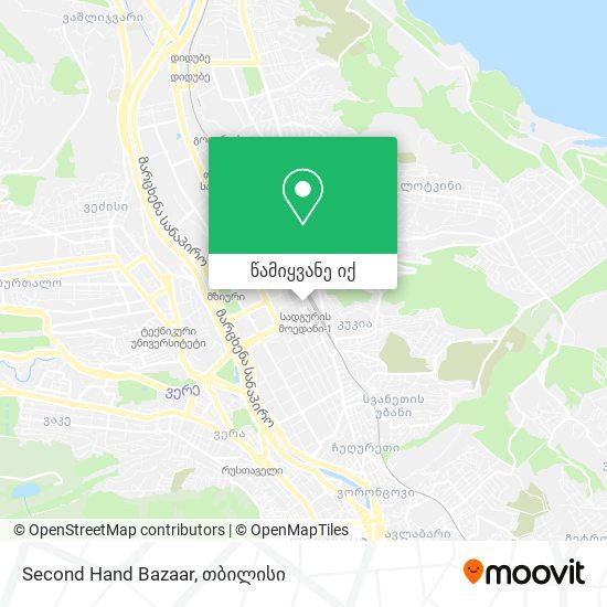 Second Hand Bazaar რუკა