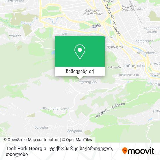 Tech Park Georgia | ტექნოპარკი საქართველო რუკა