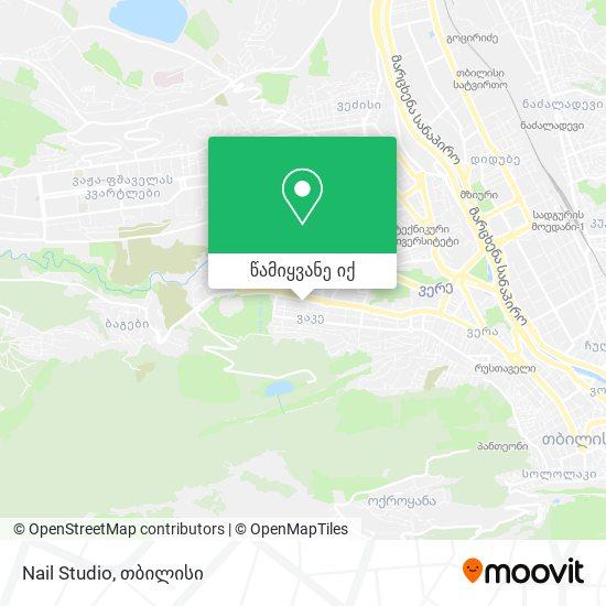 Nail Studio რუკა