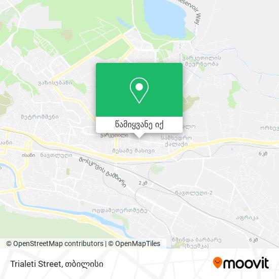 Trialeti Street რუკა