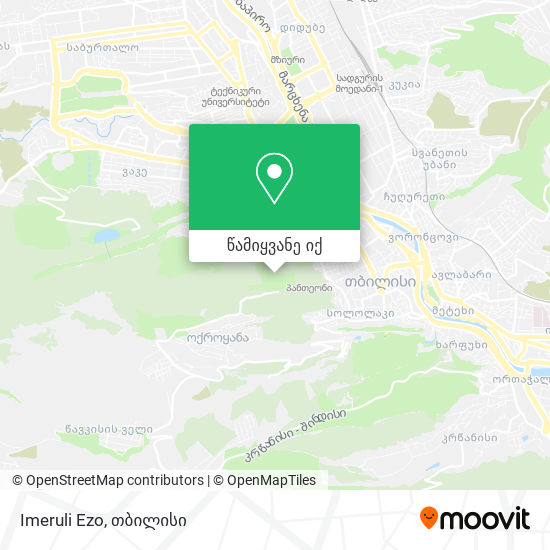 Imeruli Ezo რუკა