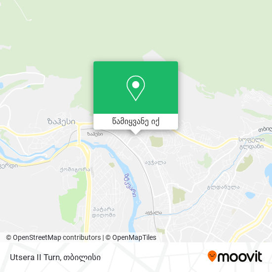 Utsera II Turn რუკა