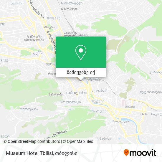 Museum Hotel Tbilisi რუკა