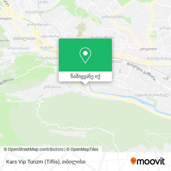 Kars Vip Turizm (Tiflis) რუკა