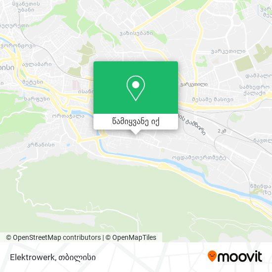 Elektrowerk რუკა
