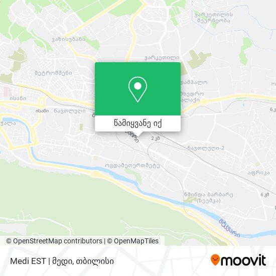Medi EST | მედი რუკა