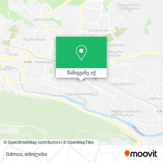 Gdmco რუკა