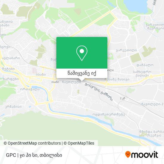GPC   ჯი პი სი რუკა