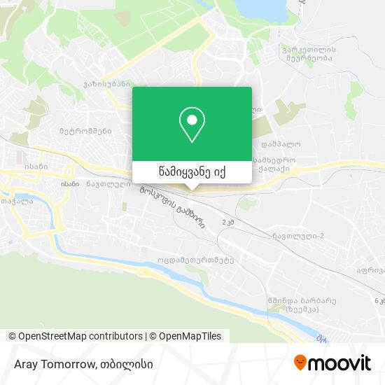 Aray Tomorrow რუკა