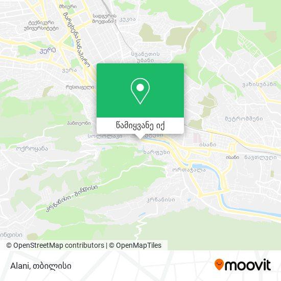 Alani რუკა