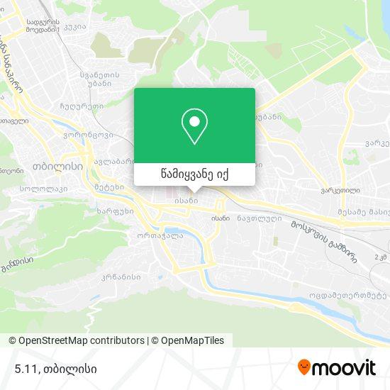 5.11 რუკა