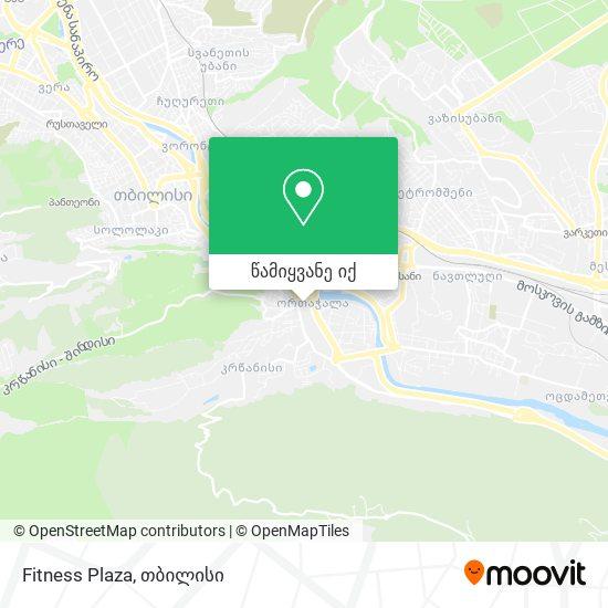 Fitness Plaza რუკა