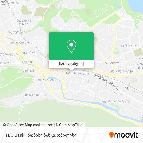 TBC Bank | თიბისი ბანკი რუკა