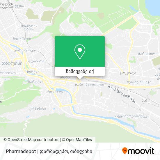 Pharmadepot | ფარმადეპო რუკა