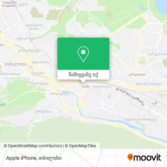 Apple iPhone რუკა