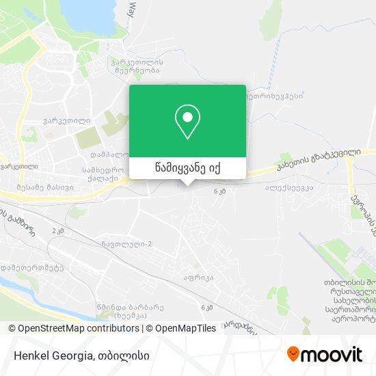Henkel Georgia რუკა