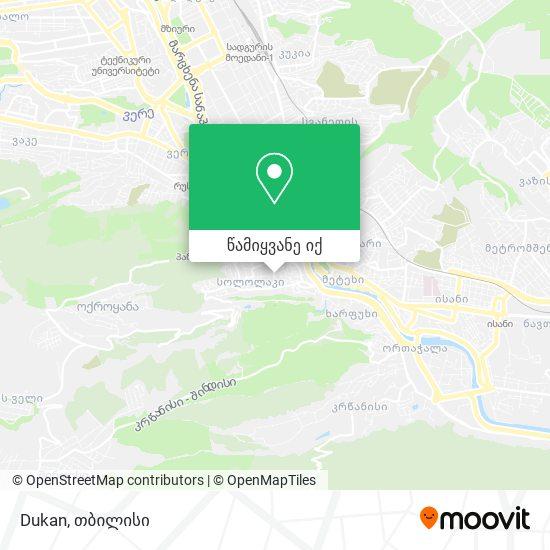 Dukan რუკა