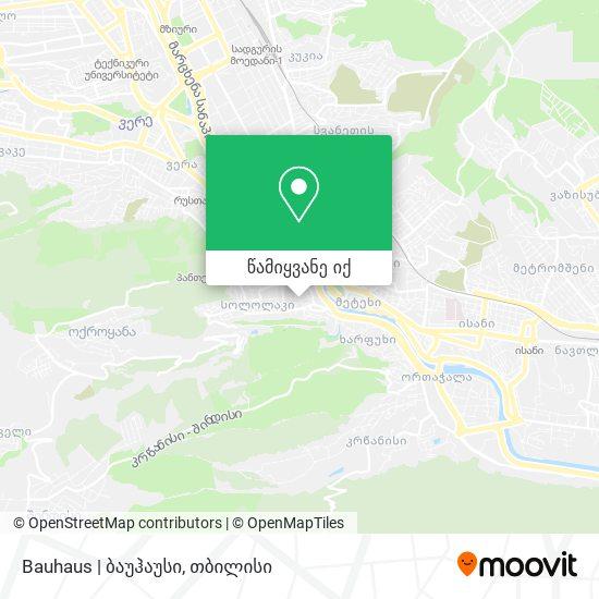 Bauhaus   ბაუჰაუსი რუკა