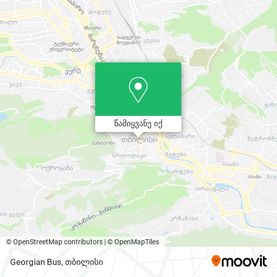 Georgian Bus რუკა