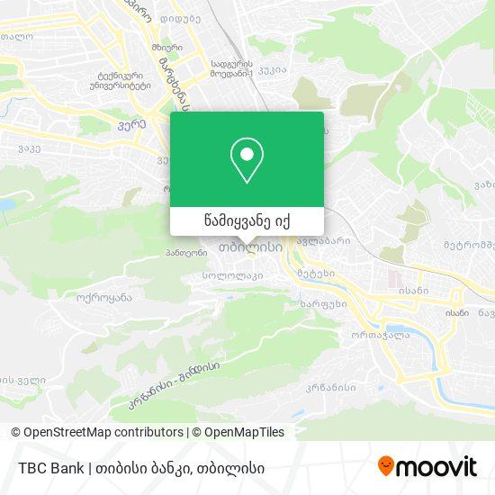 TBC Bank   თიბისი ბანკი რუკა