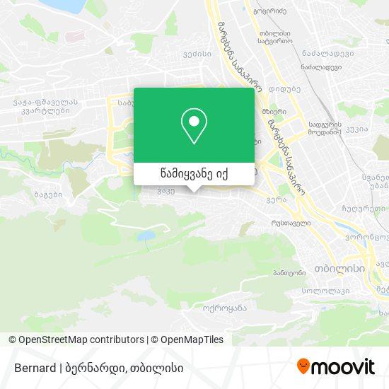 Bernard | ბერნარდი რუკა