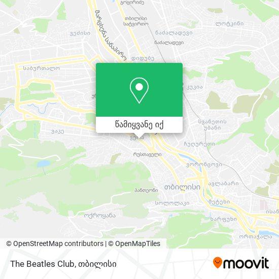 The Beatles Club რუკა