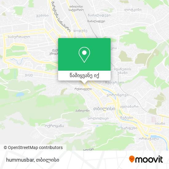 hummusbar რუკა