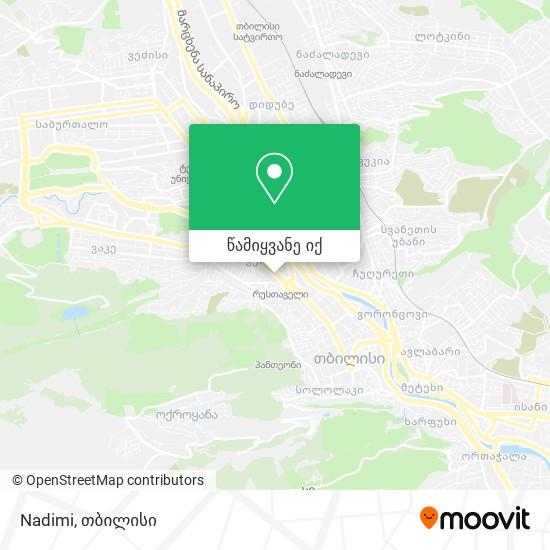 Nadimi რუკა