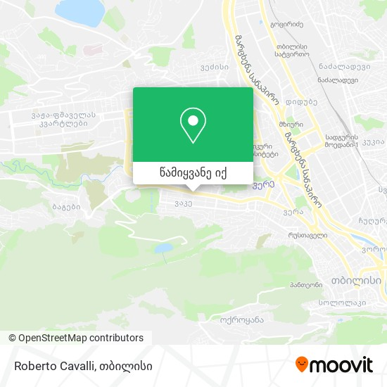 Roberto Cavalli რუკა