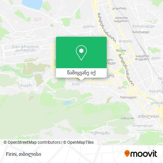 Firini რუკა